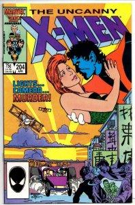 X-MEN #204, VF/NM, Wolverine, Claremont, Uncanny NightCrawler