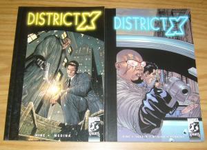 District X TPB #1-2 VF/NM complete series - x-men's bishop - afrocentric set