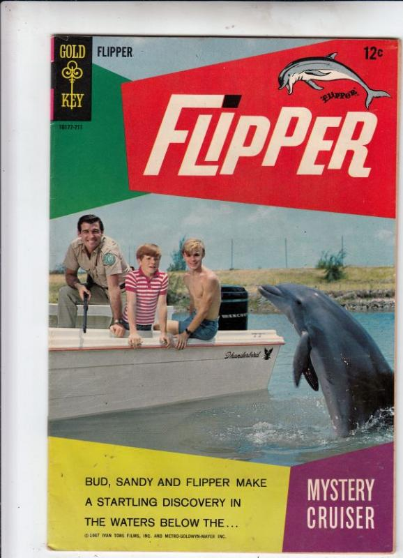 Flipper #2 (Jul-66) VF/NM High-Grade Flipper, Porter Rick, Sandy and Bud