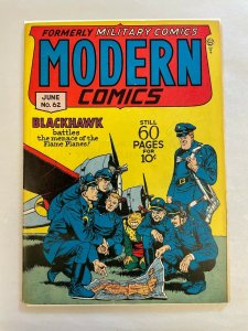 Modern Comics #62 VF+ 8.5 Quality Publishing CRANDALL C/A 1947 Golden Age WAR