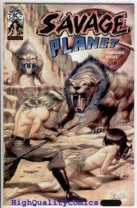 SAVAGE PLANET #2, NM+, Dan Parson, Dinosaur, Sci-Fi, more indies in store