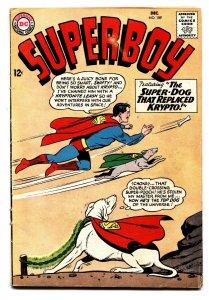SUPERBOY #109 comic book krypto cover-dc silver age comic