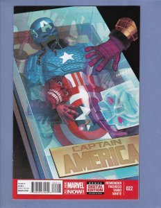 Captain America Lot #21 #22 #23 Marvel 2014