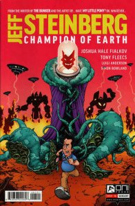 Jeff Steinberg: Champion of Earth #1A FN; Oni Press | save on shipping - details