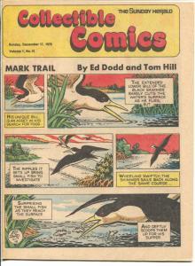 Collectible Comics #12 1978-Sunday Herald-Tarzan-Russ Manning-Gil Kane-FN/VF