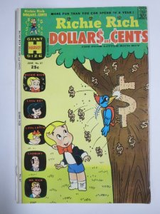 RICHIE RICH DOLLARS AND CENTS #61 (Harvey, 6/1974) GOOD PLUS (G+)