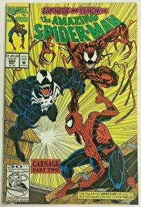 AMAZING SPIDER-MAN#362 VF 1992 CARNAGE MARVEL COMICS