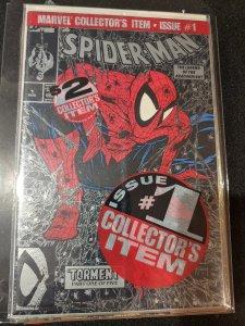 SPIDER-MAN #1 BLACK COVER VARIANT TODD MCFARLANE