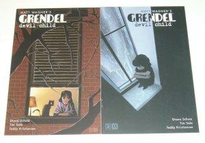 Grendel: Devil Child #1-2 VF/NM complete series - tim sale - dark horse comics