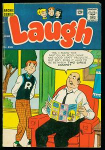 LAUGH #159 1964-ARCHIE COMICS- JOSIE by DeCarlo- good