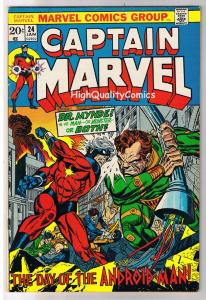 CAPTAIN MARVEL #24, VF, Death, Ernie Chan, 1968, more in store