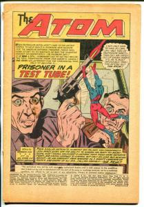 Showcase #36 1962-DC-3rd Atom appearance-coverless bargain copy-P