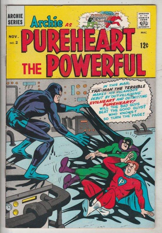 Archie As Pureheart The Powerful #2 (Nov-66) VF/NM High-Grade Archie as Purhe...