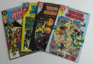 War of the Gods #1-4 Complete Set High Grade VF/NM DC Superman Shazam Power Girl