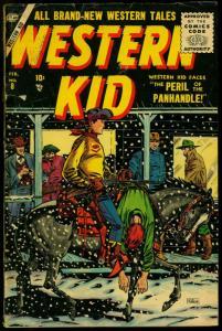 Western Kid #8 1956- Syd Shores cover - Atlas Silver Age VG