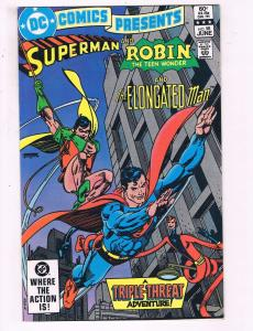 DC Comics Presents Superman & Robin The Teen Wonder #58 VF DC Comic Book DE20