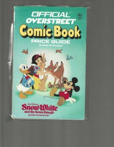 Official Overstreet Comic Book Price Guide #17 (1987/8), Snow White Cover