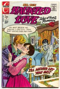 Haunted Love #2 1973- Charlton Comics- Gothic stories- Nick Cuti-FN