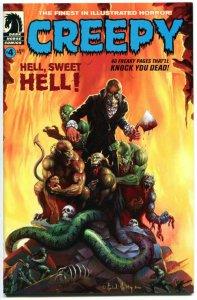 CREEPY #4, NM, Ken Kelly, Michael Kaluta, Gray Morrow, Doll, Zombie, 2009,Horror
