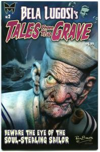 BELA LUGOSI 'S TALES from the GRAVE #2, NM, Popeye, 2010, more Horror in store