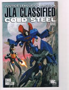 JLA Classified Cold Steel Book # 1 DC Comic Books Hi-Res Scans Awesome Issue! T3