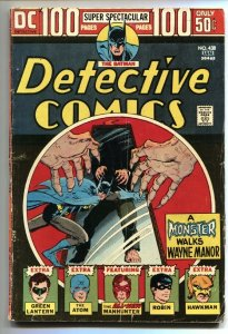 DETECTIVE COMICS #438-100 PG-BATMAN/ROBIN/GREEN LANTERN G