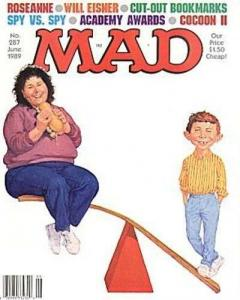 Mad (1952 series) #287, VF- (Stock photo)