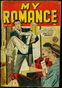 My Romance #3 1949-Marvel Golden Age Romance- Bride cover- Good Girl art