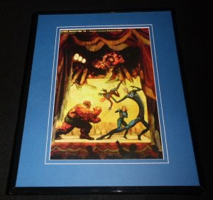 Marvel Zombies Ultimate Fantastic Four #32 Framed 11x14 Poster Display The Thing