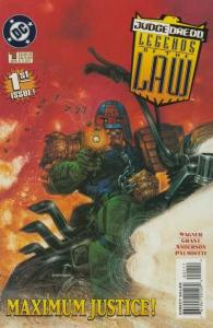 Judge Dredd: Legends of the Law #1, NM (Stock photo)