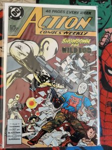 Action Comics #604 (DC, 1988) Condition: VF