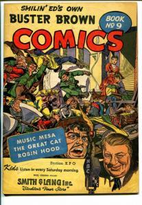 Buster Brown  #9 1947-Robin Hood cover-Egyptology story-VG