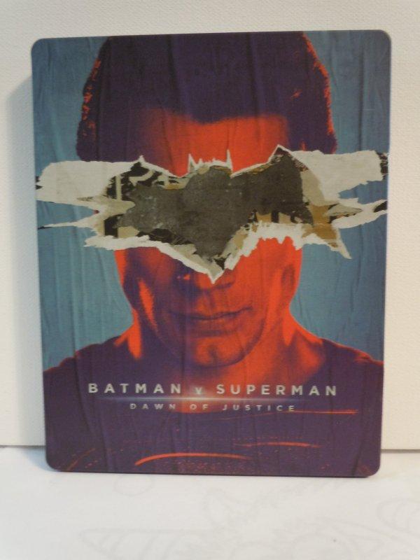 Batman v Superman: Dawn of Justice (Blu-ray) STEELBOOK
