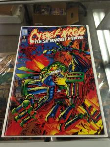 Cyber Frog: Resevoir Frog 1 NM-/NM early appearance Harris Comics