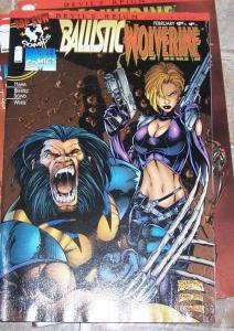 Ballistic / Wolverine #1 (Feb 1997, Top Cow / Marvel) devils reign chapter 4