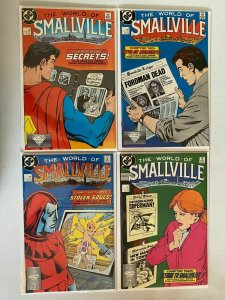 The World of Smallvlle set #1-4 6.0 FN (1988)