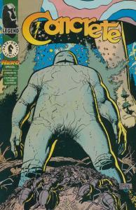 Concrete Hero #1 VF/NM; Dark Horse | save on shipping - details inside