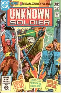 UNKNOWN SOLDIER 254 VF-NM Aug. 1981 COMICS BOOK