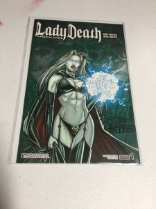 Lady Death Apocalypse 1 Crackling Century Edition Nm Near Mint Boundless Comics