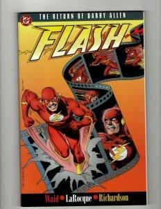The Return Of Barry Allen FLASH DC Comics TPB Graphic Novel Comic Book OF2