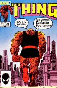 Thing (1983 series) #23, NM- (Stock photo)
