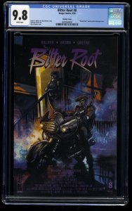 Bitter Root #8 CGC NM/M 9.8 White Pages Purple Rain Cover Homage!
