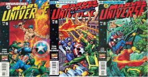 MARVEL UNIVERSE (1998) 1-3  complete INVADERS story!