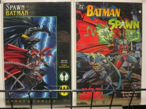 BATMAN SPAWN set of both DC / IMAGE XOVERS!