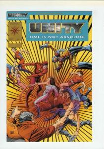 UNITY (1992 VL) 1 (GOLD PROMO ED) VF-NM CHAPTER 18 COMICS BOOK