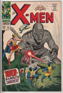 X-Men #34 (Jul-67) VF/NM High-Grade X-Men