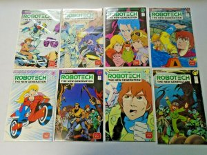 Robotech The New Generation Comic Lot Near Set #1-25 23 Diff Avg 8.0 VF (1985)