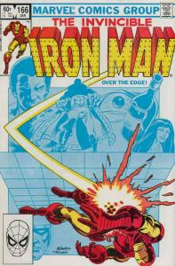 Iron Man (1st Series) #166 VF/NM; Marvel | save on shipping - details inside