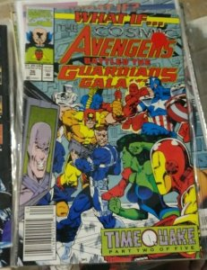 What If...? # 36  1992, Marvel timequake pt 2+ avengers guardians of the galaxy
