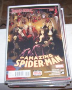 Amazing Spider-Man #  12 ( 2015, Marvel)  spider-verse pt 4 superior+ spider-ham